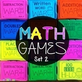 Math Games 2nd Grade Bundle Set 2