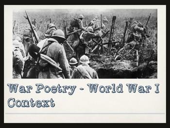 War Poetry - World War 1 and Dulce et Decorum Est