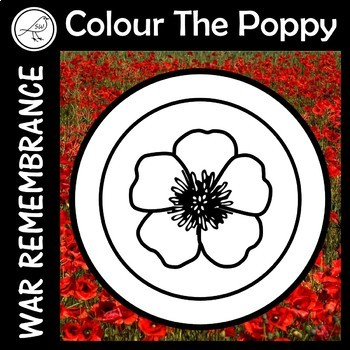 Anzac Day – Colour the Poppy