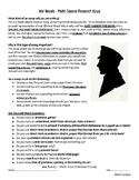 War Research Essay and Rubric