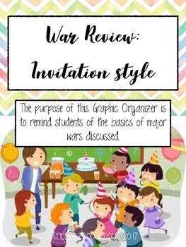 War Review - Invitation Style