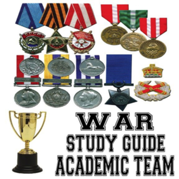 War Study Guide for Academic Team