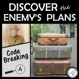 War Theme Escape Room Code Breaking Activity Level A