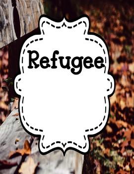 War and Refugee Experiences Novel Studies Bundle