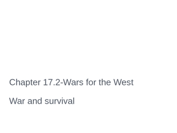 War and Survival PowerPoint