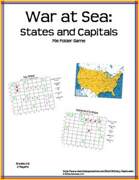 War at Sea: States and Capitals