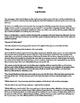War by Luigi Pirandello Complete Guided Reading Worksheet