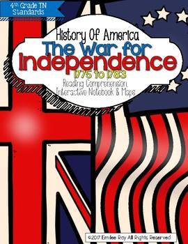 War for Independence - 1776-1783 {TN Social Studies Standards}