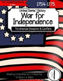 War for Independence: American Revolution