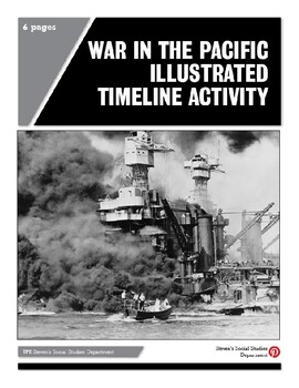 War in the Pacific Illustrated Timeline Activity