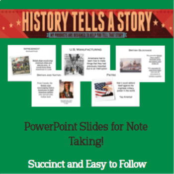 War of 1812 - Powerpoint Notes!