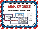 War of 1812 Activities