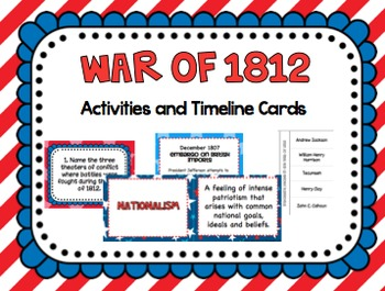 War of 1812 activities by to the square inch kate bing coners tpt war of 1812 activities publicscrutiny Gallery