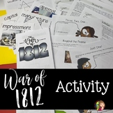 War of 1812 Activity with Doodle Notes™ and Google Slides™