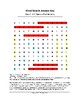 War of 1812: Battle of Fort McHenry Word Search (Grades 3-5)