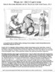 War of 1812 Cartoon PRIMARY SOURCE ACTIVITY for History