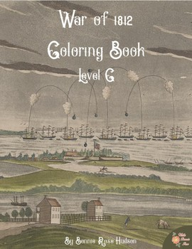 War of 1812 Coloring Book-Level C