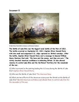 War of 1812 DBQ