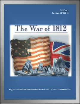War of 1812 Differentiated Instruction Lesson Plan