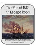 War of 1812 Escape Room
