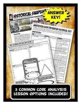 War of 1812 Historical Snapshot Close Reading