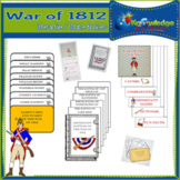 War of 1812 Interactive Foldable Booklets