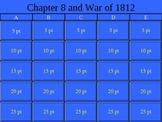 War of 1812 Jeopardy!