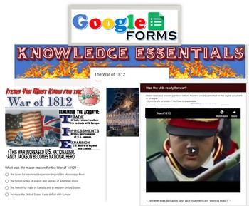 War of 1812 Knowledge Essentials