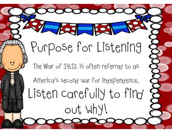 War of 1812 - CKLA Listening & Learning