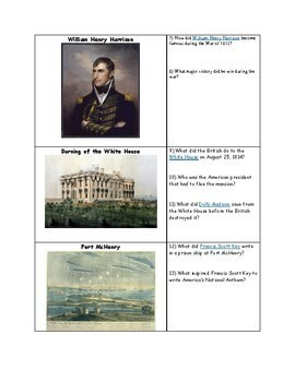 War of 1812 Organizer (Causes and Major Events of the War of 1812)