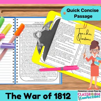 War of 1812: Passage