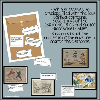 War of 1812 Political Cartoons Viewpoints of Americans