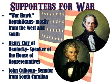 War of 1812 PowerPoint Lesson