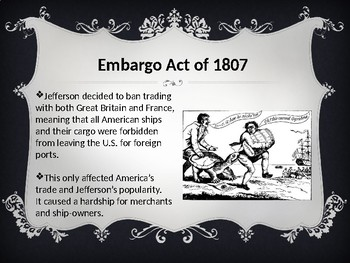 War of 1812 (PowerPoint Presentation)