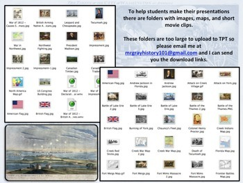 War of 1812 - PowerPoint Project