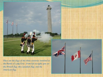 War of 1812 PowerPt-Battle of Lake Erie/Burning Washington/Star Spangled Banner