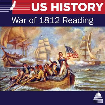 War of 1812 Reading and six questions
