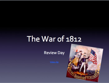War of 1812 Review