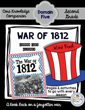 CKLA War of 1812 ~ Second Grade (Engage NY/Core Knowledge Domain 5)