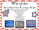 War of 1812 Second Grade Core Knowledge Bundle with studen