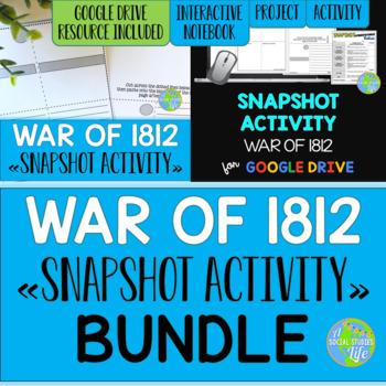 War of 1812 Snapshot Activity BUNDLE