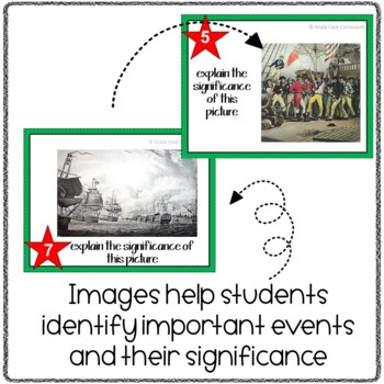 War of 1812 Task Cards Activity