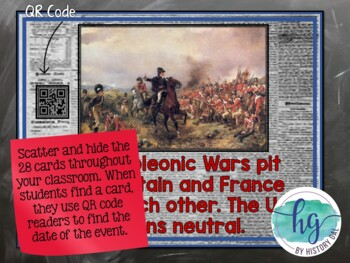 War of 1812 timeline activity with and without qr codes by history gal war of 1812 timeline activity with and without qr codes publicscrutiny Gallery