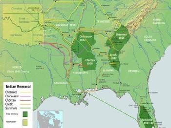 War of 1812 + Trail of Tears  PPT Presentation * EDITABLE