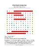 War of 1812: Treaty of Ghent Word Search (Grades 3-5)