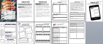 US History: War of 1812 Lesson Bundle of 7