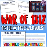 War of 1812 Webquest