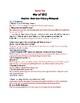 War of 1812 Research Webquest-No Prep!!