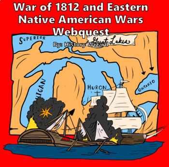 War of 1812 and Eastern Indian Wars Webquest