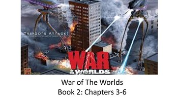 War of The Worlds by H G Wells: Book 2, Chapters 3 - 6
